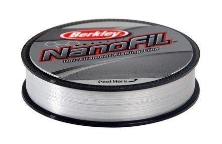 Berkley Nanofil 0.25 125m Nebel-Transparent  17,027kg