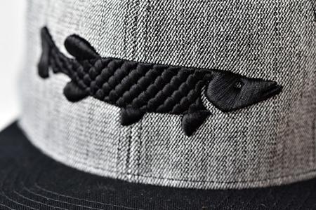 Czapka Red Pike Snapback Black/Grey