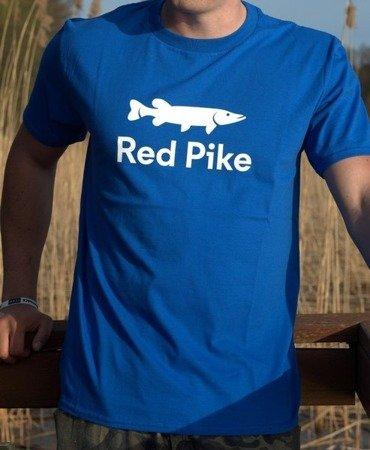 Koszulka Wędkarska Red Pike Niebieska