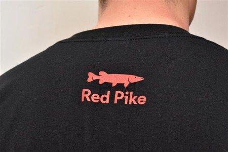 Koszulka Wędkarska Red Pike czarna