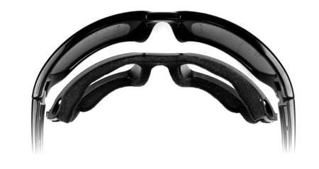 Okulary przeciwsłoneczne WileyX TIDE Polarized Blue Mirror Matte Black Frame