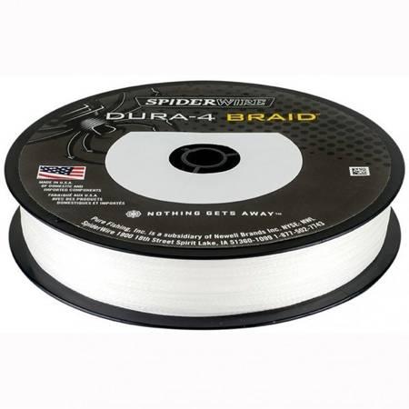 Plecionka Spiderwire Dura 4 Braid 0.10 mm 150 M 9,1 kg Przeźroczysta / Translucent