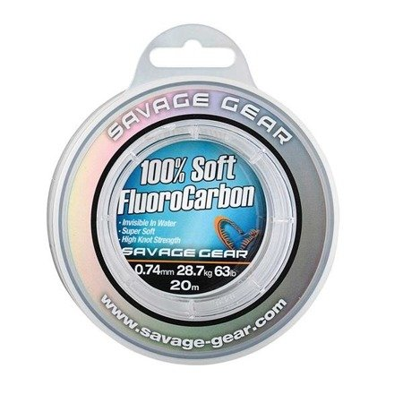 Savage Gear Fluorocarbon Soft 0.22mm 50m 3.5kg
