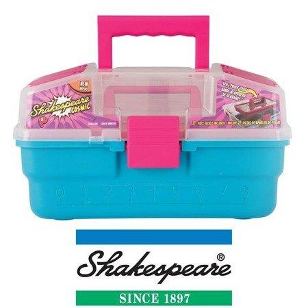 Shakespeare Pudełko Na Przynęty Wędkarskie Dla Dzieci Cosmic Różowo-turkusowe