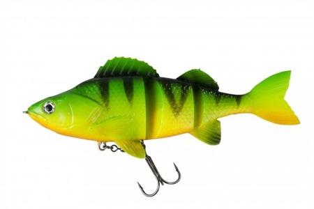 Swimbait Effzett Natural Perch 18cm 70g - Firetiger