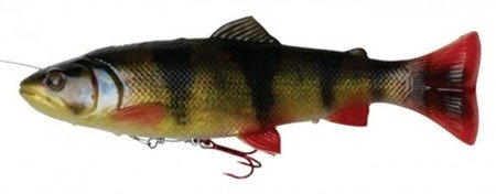 Swimbait Savage Gear 4D Line Thru Pulsetail Trout 20cm 102g SS perch